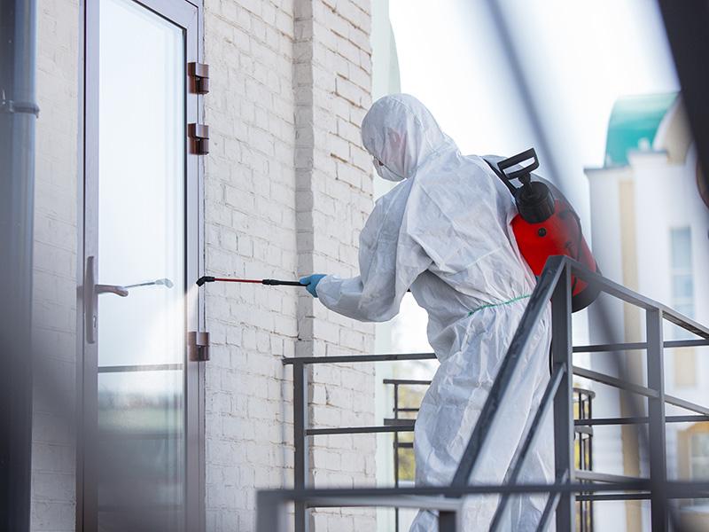 Üvegvédelem járvány idején